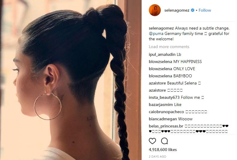 New Radical Haircut Of Selena Gomez Look At Her HollywoodGossip