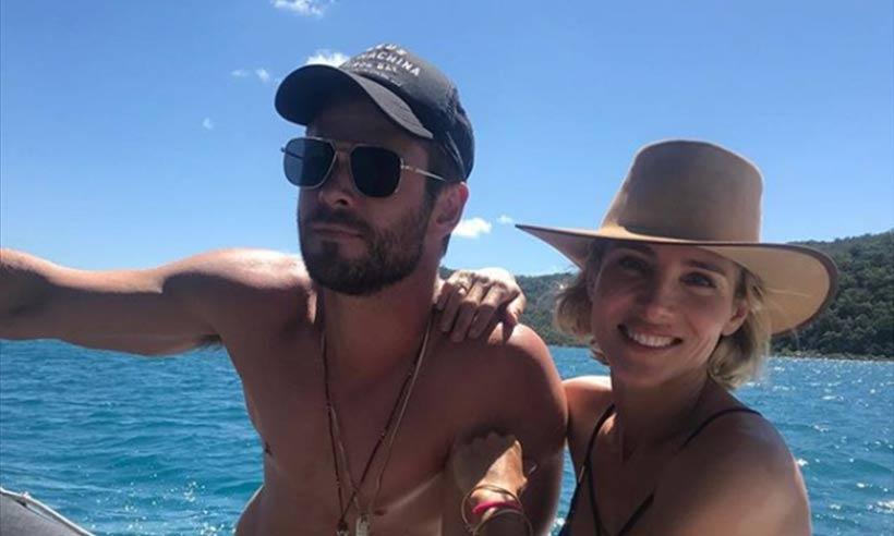 Chris Hemsworth And Elsa Pataky Super Hot Vacation moments HollywoodGossip