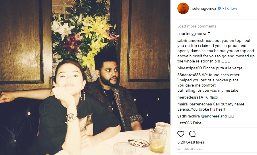 The Weeknd Sends Messages To Selena Gomez Through New Song HollywoodGossip