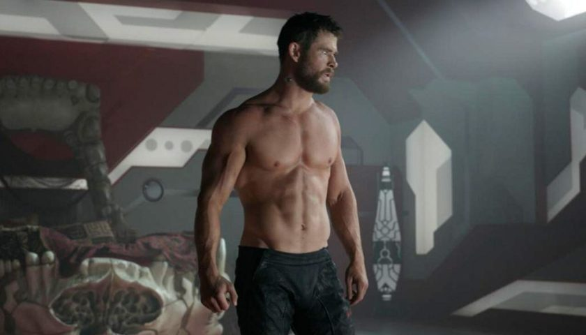 Small Tribute To The Well-worked Body Of Chris Hemsworth | Hollywoodgossip