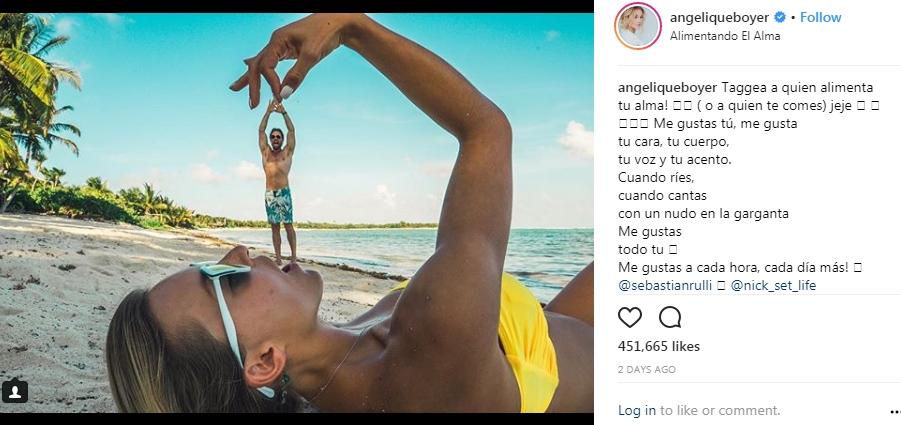 Sebastian Rulli And Angelique Boyer On Romantic Vacation HollywoodGossip