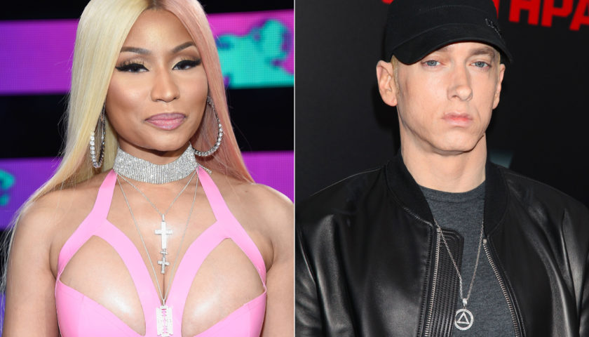 Nicki Minaj Is Dating Eminem Hollywoodgossip