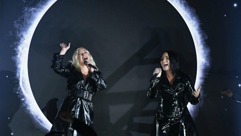 Performance Of Christina Aguilera And Demi Lovato In Billboard Music Awards 2018 Hollywoodgossip