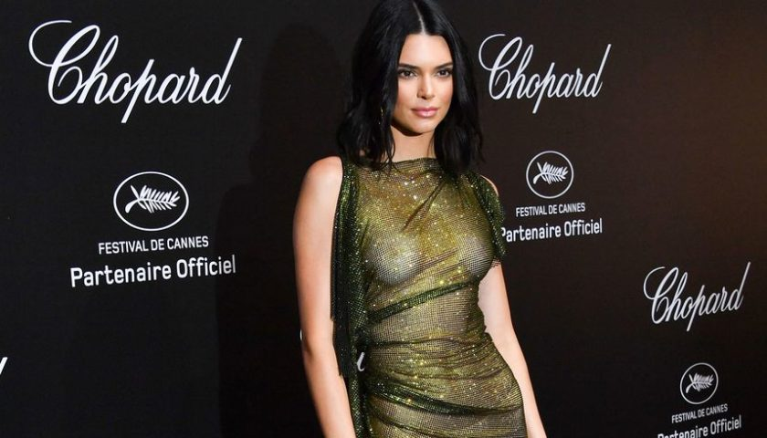 Kendall Jenner Wins The Most Naked Dress at Cannes 2018