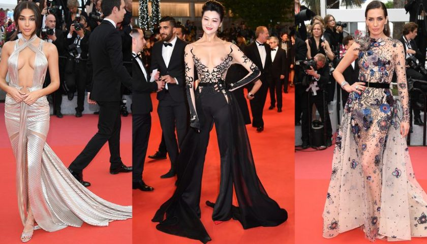 Most Glamorous Naked Dresses from Cannes Film Festival 2018