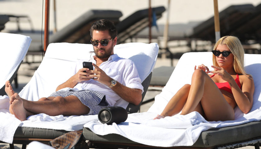 Sofia Richie Enjoying With Scott Disick On His Birthday Hollywoodgossip