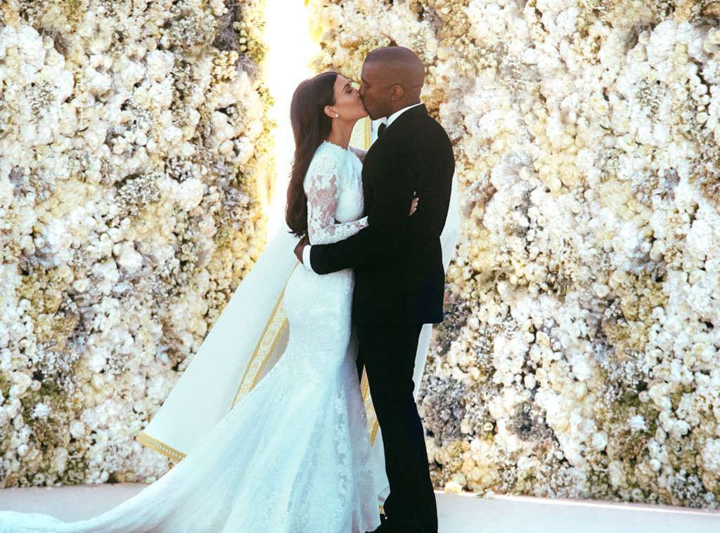 Kim Kardashian Celebrated 4 Years Of Her Wedding With Kanye West Hollywoodgossip