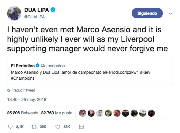 Dua Lipa On Her Romance Rumors With Marco Asensio Hollywoodgossip