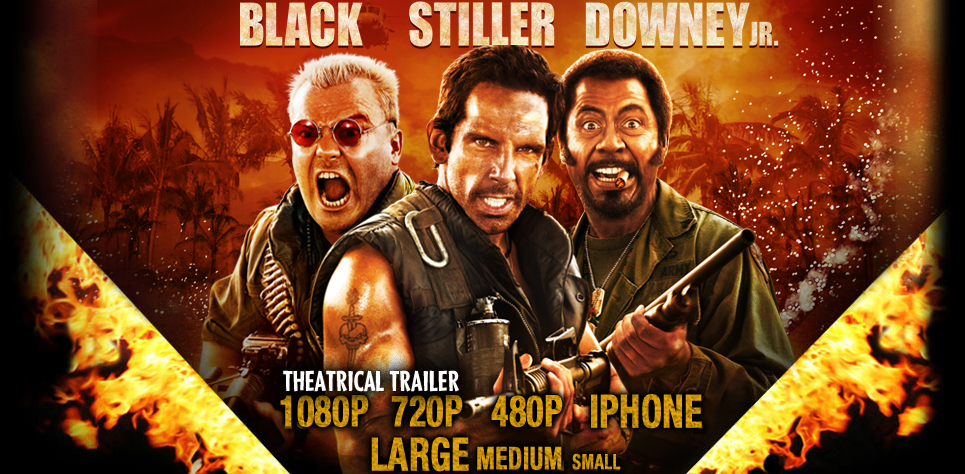 Tropic Thunder: A very bitchy war (2008)