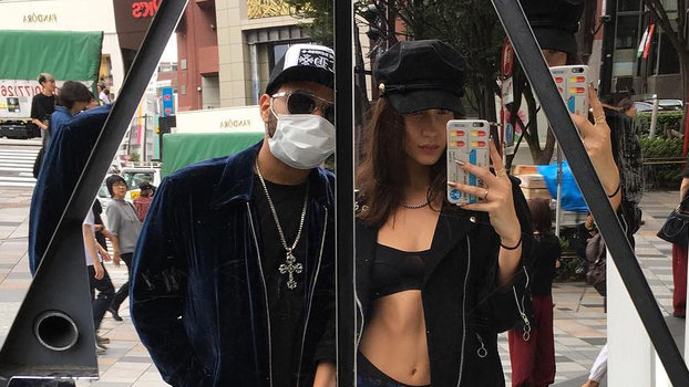 Bella Hadid and The Weeknd Making Love In Japan Trip Hollywoodgossip
