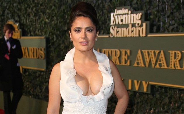The Special Message Of Salma Hayek To Kim Kardashian Hollywoodgossip