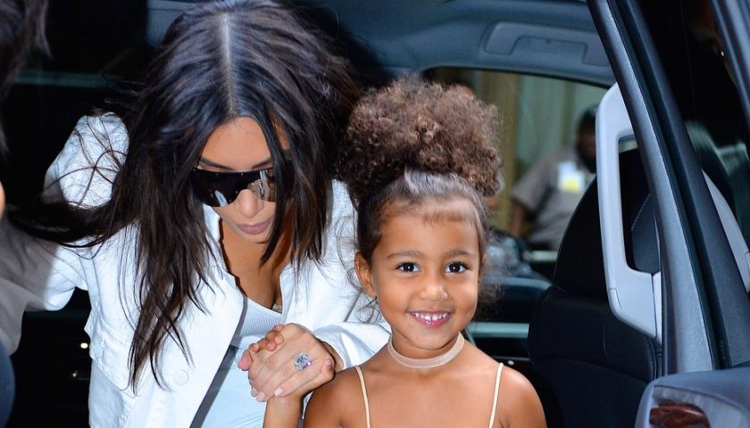 North West Debuted As A Model With Kim Kardashian Hollywoodgossip