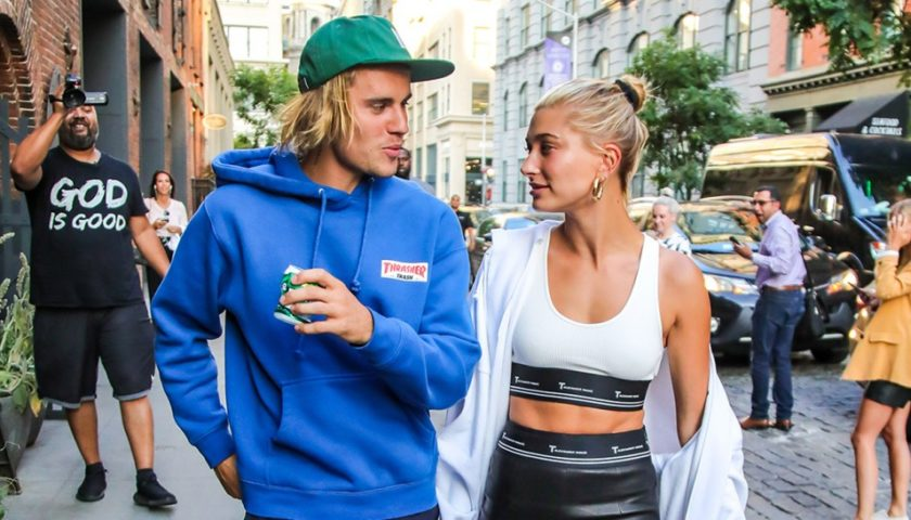 Justin Bieber And Hailey Baldwin Celebrate Their Engagement Hollywoodgossip