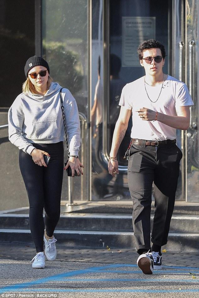 Chloe Grace Moretz Finally Separated From Brooklyn Beckham Hollywoodgossip
