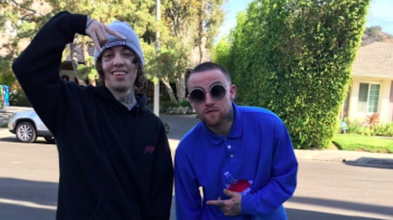 Lil Xan Tattooed His Face In Homage To Mac Miller HollywoodGossip