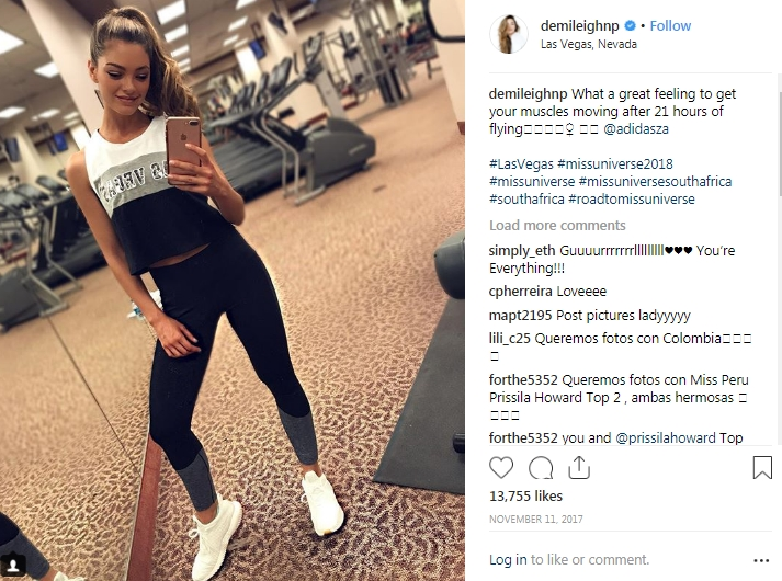Fitness Routine And Diet of Miss Universe Olivia Culpo And Demi-Leigh Nel-Peters HollywoodGossip