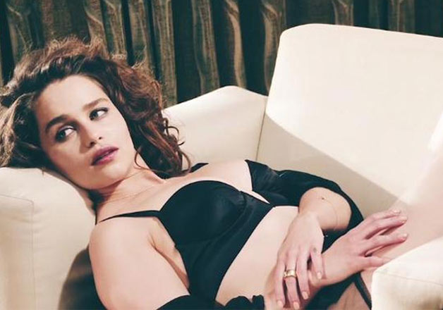 Emilia Clarke Hottest S3xiest Photo Images Pics HollywoodGossip