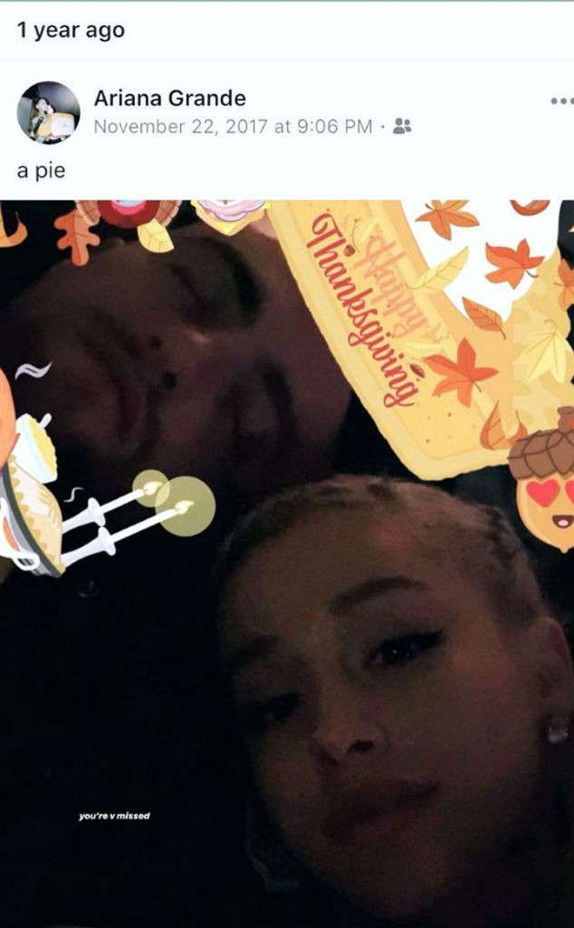 Ariana Grande Pays Tribute On Last Thanksgiving Of Mac Miller HollywoodGossip