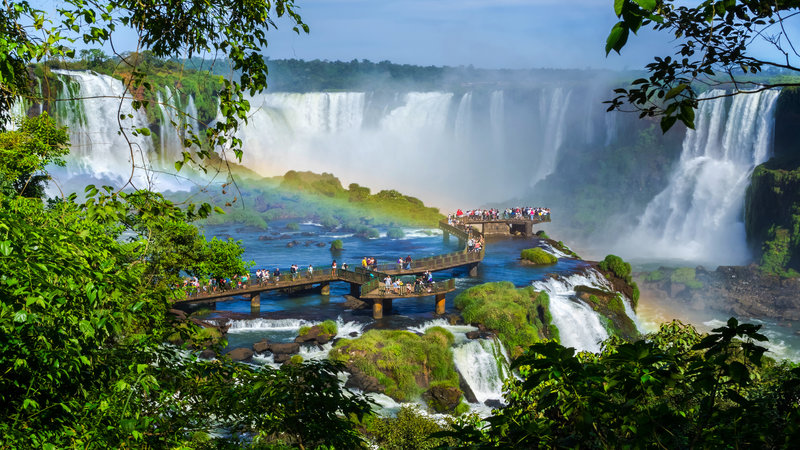 Iguazu Falls, Argentina/Brazil border