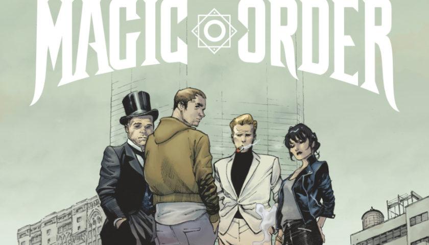 The Magic Order 2019 tv show