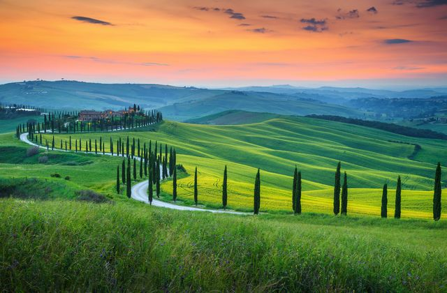 Tuscany romntic places