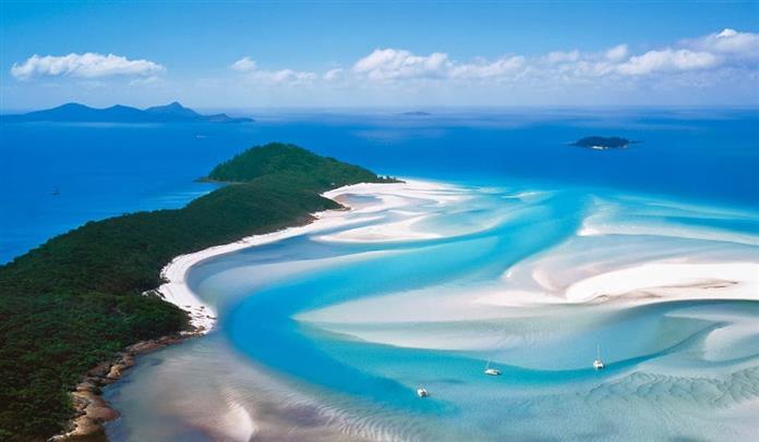 10. Whitehaven Beach – Australia