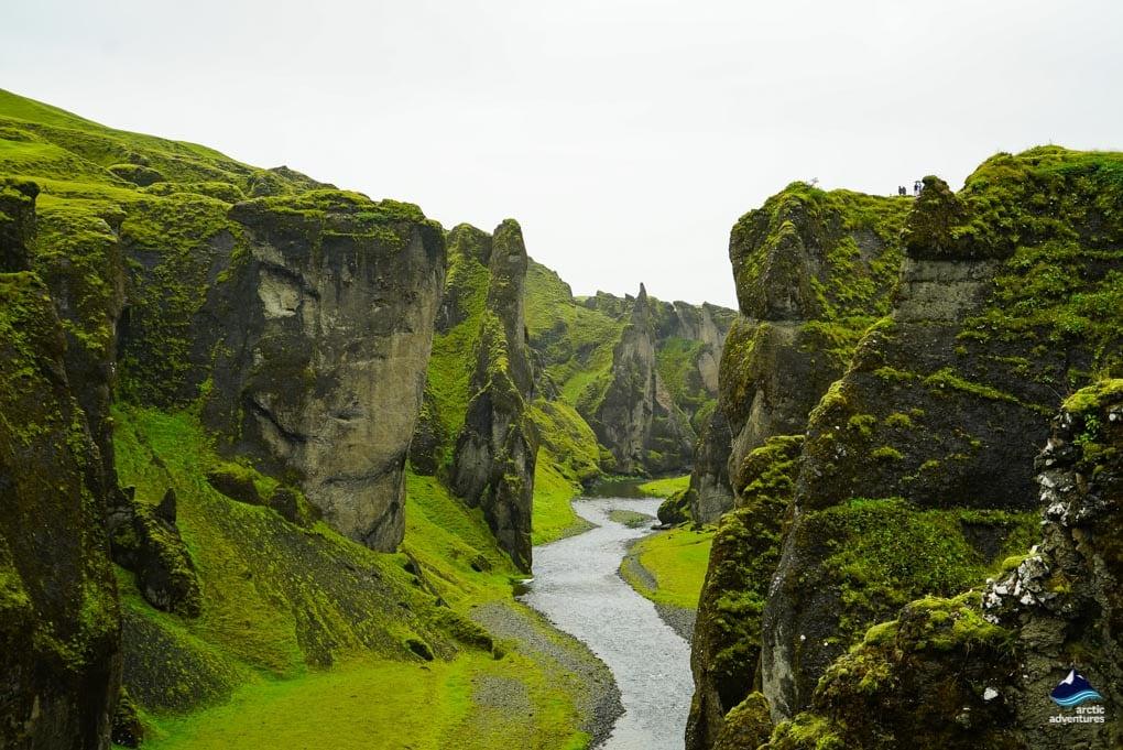 4. Fjaðrárgljúfur Canyon – Iceland