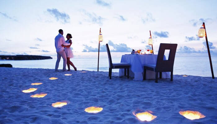 Maldives romantic places