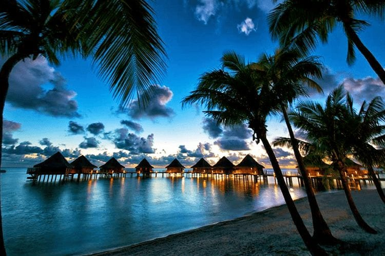 Tahiti romantic places