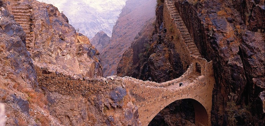 6. The Shahara Bridge – Yemen