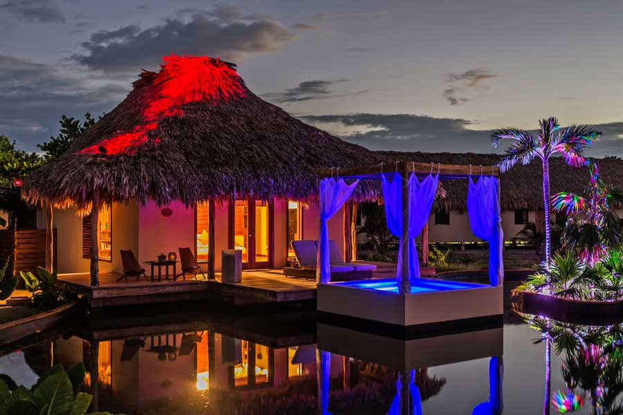 Belize romantic places