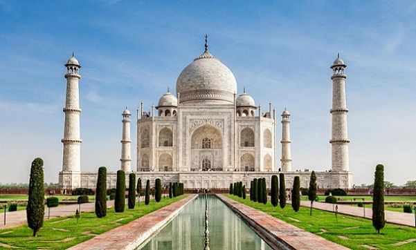 Taj Mahal romantic places