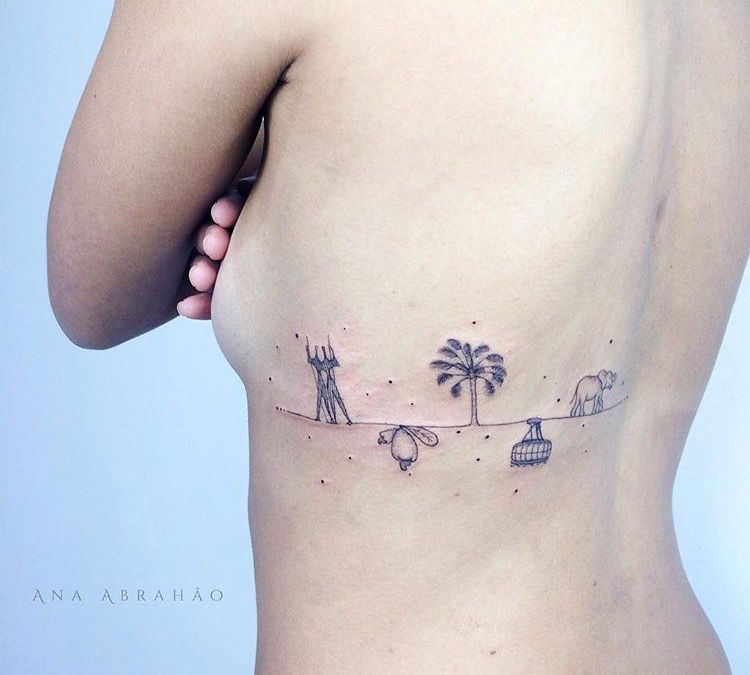 Ana Abrahão tatto photos pics images