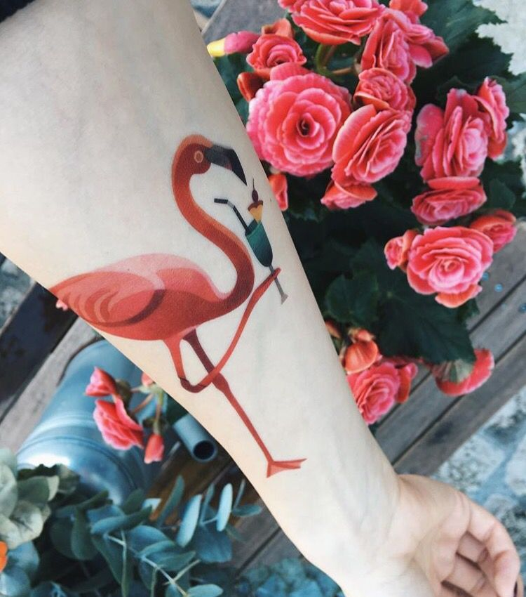 Flamingo Tattoo photos pics images