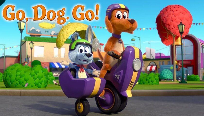 Go, Dog, Go 2021 tv show